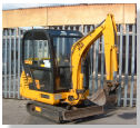 JCB CABED 8015 MINI DIGGER 1m WIDE
